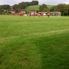 aaron freeman scores from the spot v Pulborough. 13/09/14