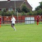 Alex Troke bundles home his goal @ Carlton...