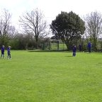 U9 Colts Euan free kick v St Margarets