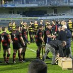 Bristol Combination Cup Final 2012, Collecting medals