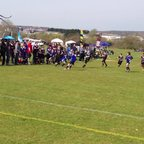 Ollie L trie at the Isle of Wright Fest 2013 under 10's