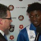 BoroTV - new signing Kabongo Tshimanga is welcomed to the club (21st Nov 2015)