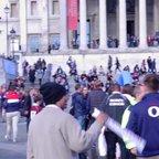 SCRFC Trafalgar square fanzone