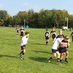Team try at Wotton Bassett