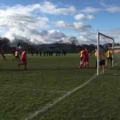Tom Wells equaliser in added time - Gresford Athletic v Brymbo