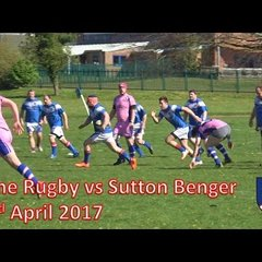 Calne RFC vs Sutton Benger - 22/04/17 Rugby Match