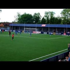 Hyde United v Bangor City - Tom Pratt Scores