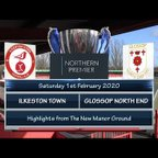 Ilkeston Town v Glossop North End 01/02/20
