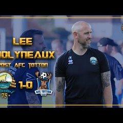 PRE-SEASON| Gosport 1-0 AFC TOTTON: Lee Molyneaux Post-match interview