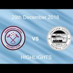 Hamworthy vs Portland 29/12/18 - HIGHLIGHTS