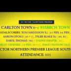 1920 Carlton Town 6-4 Wisbech Town - Match Highlights 11/01/2020