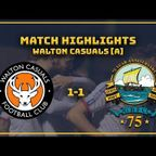 MATCH HIGHLIGHTS: Walton 1-1 GOSPORT