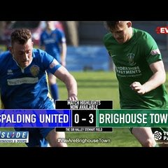 22/04/19 - Spalding United 0-3 Brighouse Town