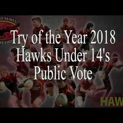 Sheffield Hawks Try of the Year 2018