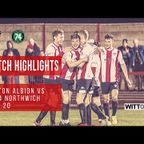 MATCH HIGHLIGHTS | Witton Albion 3-0 1874 Northwich