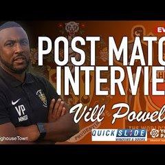 30/04/19 - Vill Powell Post Sheffield FC