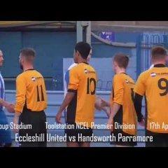 Eccleshill United vs Handsworth Parramore Match Highlights