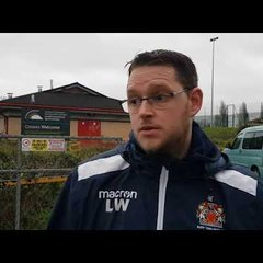 Barry Town Ladies 7-0 Willows post match reaction from manager Luke Williams