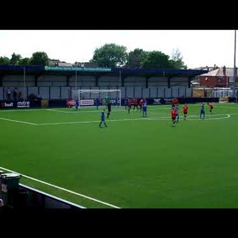 Hyde United v Bangor City - Ross Daly Scores
