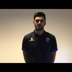 Safyaan Sharif Joins Glenrothes Cricket Club