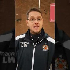 FAW CUP: Cyncoed 7-2 Barry Town Utd Post match reaction from manager Luke Williams.
