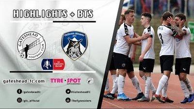 HIGHLIGHTS x BEHIND THE SCENES: Gateshead 1-2 Oldham Athletic (10/11/19)