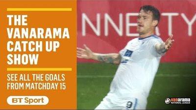 Vanarama National League Highlights Show | Matchday 15