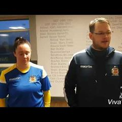 Barry Town Utd Ladies 6-2 Merthyr Town FC Post Match Reaction.