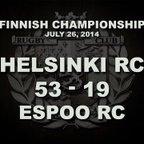 26/07/2014 Helsinki RC v Espoo RC   Finnish Men's Championship