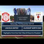 Lincoln United v Glossop North End 07/12/19