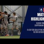 HIGHLIGHTS: Slough Town 2-3 Chippenham Town | 2019/20 Emirates FA Cup