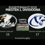 Turku Eagles vs Espoo Final Highlights