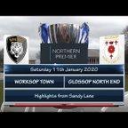 Worksop Town v Glossop North End 11/01/20