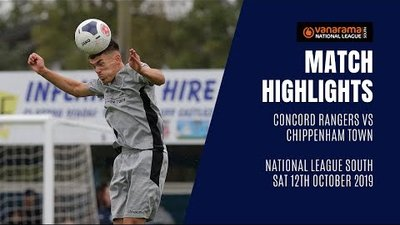HIGHLIGHTS: Concord Rangers 0-1 Chippenham Town | 2019/20 National League South
