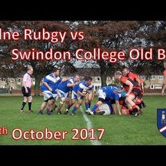 Calne RFC vs Swindon College Old Boys 28/10/17 Rugby Match