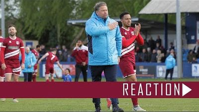 Chippenham Town (A) Reaction: Rod Stringer