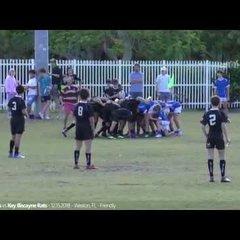 Okapi Wanderers Rugby FC U15 vs Key Biscayne 01 19 2019