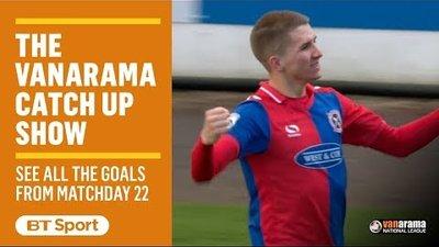 Vanarama National League Highlights Show | Matchday 22