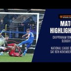 HIGHLIGHTS: Chippenham Town vs Slough Town | 2019/20 National League South