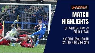 HIGHLIGHTS: Chippenham Town vs Slough Town   2019/20 National League South