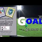GOALS  Grays Ath v Canvey Island FC Essex Senoir Cup