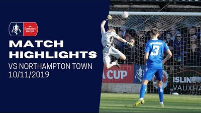 HIGHLIGHTS: Chippenham Town 0-3 Northampton Town   2019/20 Emirates FA Cup