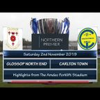 Glossop North End v Carlton Town 02/11/19