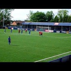 Hyde United v Bangor City - David Brown Scores