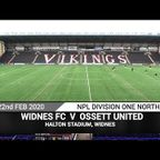 PITCHERO Widnes FC Vs Ossett United (22.02.20)