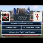 Sheffield FC v Glossop North End 08/02/20