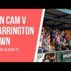 FAN CAM   WARRINGTON TOWN vs WITTON ALBION (22.4.19)