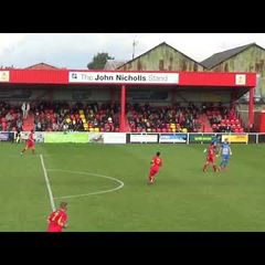 Banbury United 2 Thatcham Town 0 - FA Cup 16 Sep 2017- Match Highlights