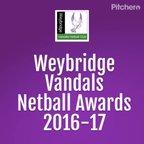 Vandals Netball Awards 2016-17