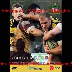 Hinckley 35 - 7 Chester
